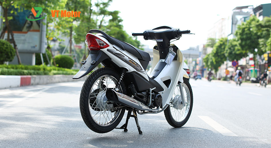 xe Wave 50cc trắng